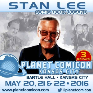 Stan Lee Planet Comicon Announcement