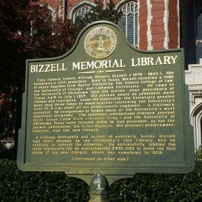 A Scholastic Gem: Bizzell Memorial Library in Norman, Oklahoma